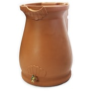 Good Ideas RWURN 65 gal. Rain Barrel, Terra Cotta