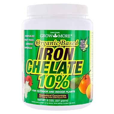 Grow More 7450 Organic Iron Chelate concentrate, 8 oz.