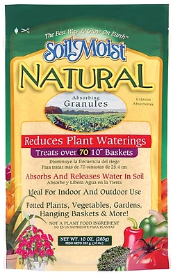 Soil Moist Natural SMN10 10 oz. Absorbing Granules