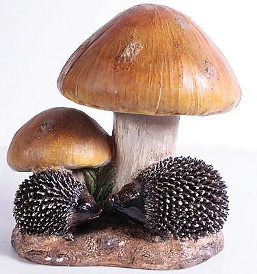 Kelkay 4448 Small Resin-Stone Toadstool Hedgehogs