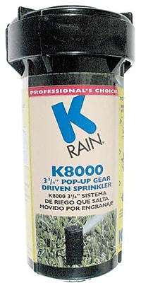 K Rain 81031 K8000 Pop-up Gear Drive Rotating Sprinkler