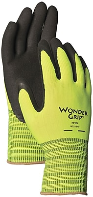 Wonder Grip WG310HVM Green Polyester, Medium