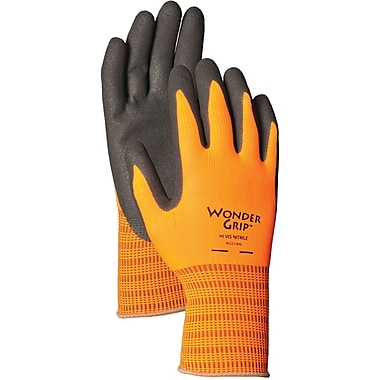 Wonder Grip WG510HVM Orange Polyester, Medium