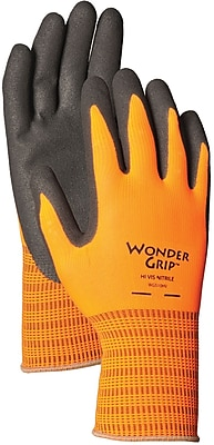 Wonder Grip WG510HVM Orange Polyester, Medium