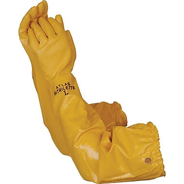 Atlas Gloves WG772 Yellow Nitrile