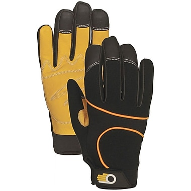 Bellingham Glove C7780M Black Leather, Medium