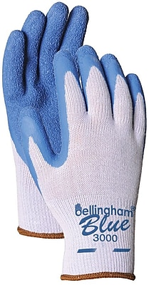 Bellingham Glove C3000M Blue Polyester/Cotton, Medium