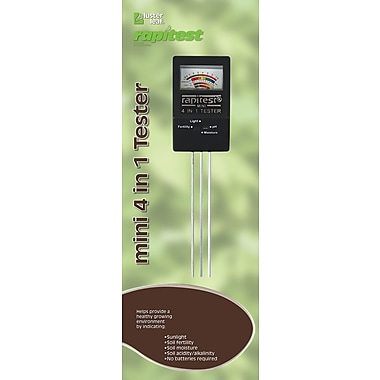 Luster Leaf 1818 Rapitest Mini 4-in-1 Soil Tester