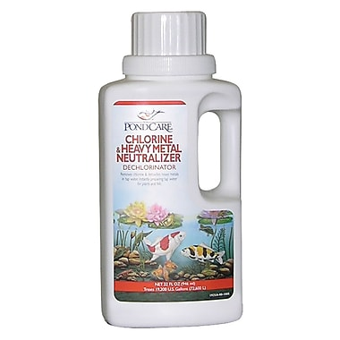Pondcare 141G Chlorine and Heavy Metal Neutralizer, 32 oz.