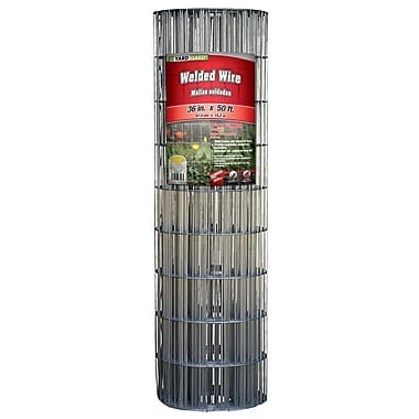 Midwest Air Technologies 308301B Galvanized Welded Mesh Fence, 36