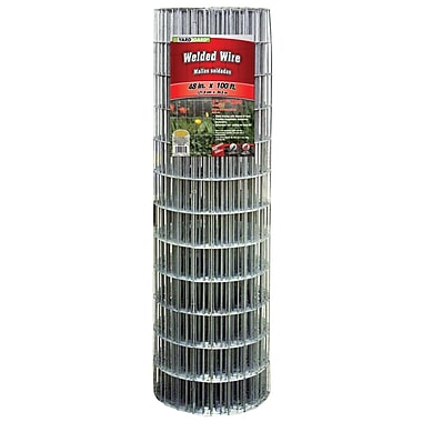 Midwest Air Technologies 308312B Galvanized Welded Mesh Fence, 48