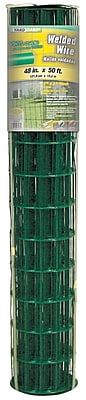 Midwest Air Technologies 308352B Plastic Coated Lawn & Home Welded Fence, 48