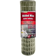 """Midwest Air Technologies 309320A 1"""" Mesh Galvanized Welded Mesh Fence, 24"""" x 25'"""