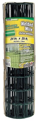 Midwest Air Technologies 308350B Dark Green YardGard PVC Coated Welded, 24