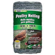 "Midwest Air Technologies 308419B 1"" Mesh Hexagonal Poultry Netting, 18"" x 150'"