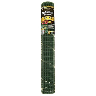 Midwest Air Technologies 889250B Green Mesh PVC Garden Fence, 40