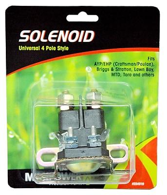 Maxpower Precision Parts 334019 Universal Four pole Solenoid