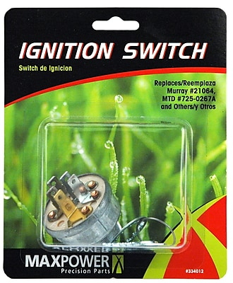 Maxpower Precision Parts 334012 Universal Ignition Switch