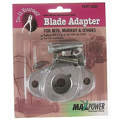 Maxpower Precision Parts 330205 Blade Adapter Kit MTD Pack