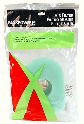 Maxpower Precision Parts 334327 Air Filter for Briggs & Stratton 1260417