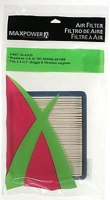 Maxpower Precision Parts 334305 Air Filter for Briggs & Stratton 1260469
