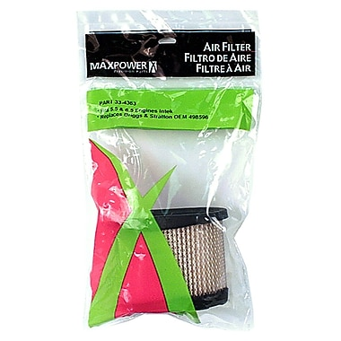 Maxpower Precision Parts 334363 Air Filter for Briggs & Stratton