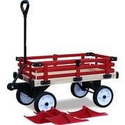 Millside Industries WWSR-W Convertible Wooden Wagon