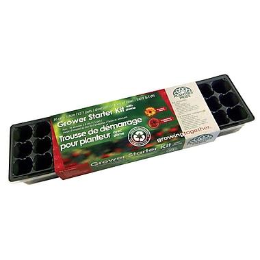 Planters Pride RZG04090 36 Cell Plastic Greenhouse Kit, Black