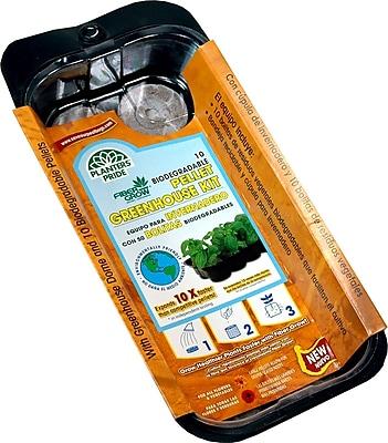 Planters Pride RZG00100 10 Grow Pellets Greenhouse Kit, Brown