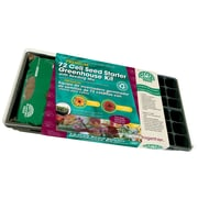 Planters Pride RZA08090 72 Cell Seed Starter Greenhouse Kit, Black