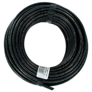 "Raindrip 1/4"" x 50' Laser Drilled Soaker Hose Tubing, Black"