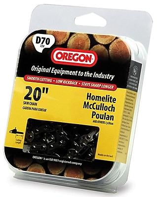 Oregon D70 Full Chisel Cutting Chain, 20