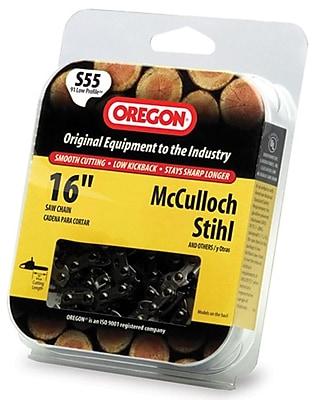 Oregon S55 Semi Chisel Cutting Chain, 16