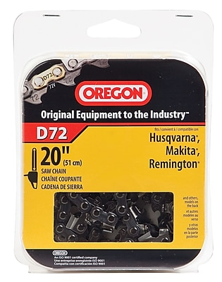 Oregon D72 Premium Vanguard Saw Chain, 20