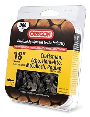 Oregon D66 Premium Vanguard Saw Chain Display, 18