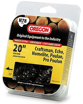 Oregon H78 HD Full Chisel Cutting Chain, 20