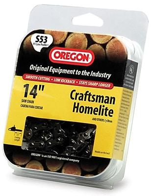 Oregon S53 Semi Chisel Cutting Chain, 14