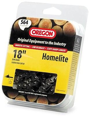 Oregon S64 Semi Chisel Cutting Chain, 18