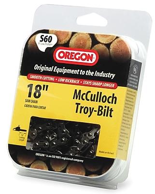Oregon S60 HD Semi Chisel Cutting Chain, 18