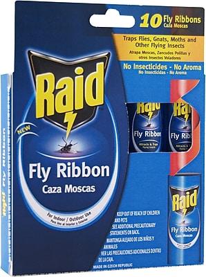 Raid FR3-RAID Fly Catcher Ribbon, 10 Count