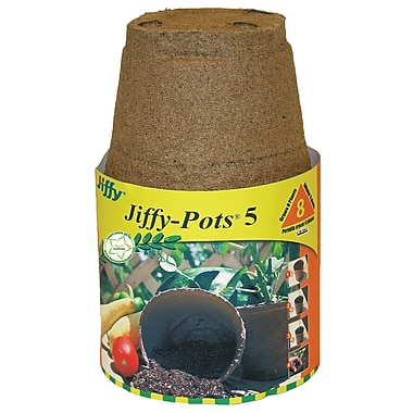 Jiffy JP506 Seed Starter Pot, 8 Count