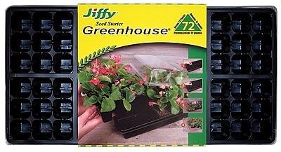 Jiffy T72H Easy Grow Greenhouse, Black