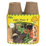 "Jiffy JP322 3"" Seed Stater Pot, 22 Count"
