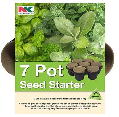 Jiffy PFB7 Seed Starter Kit, 8 Count