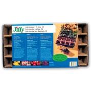 Jiffy TS32 Strips 'N Tray, Brown