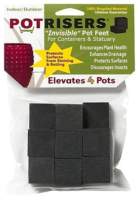 Potrisers PR16 Invisible Pot Risers, 16 Count