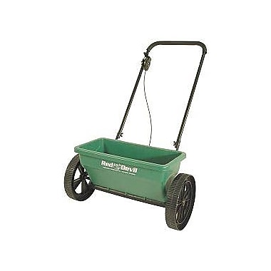Precision Products DS4500RDGY Green Deluxe Step Up Drop Spreader