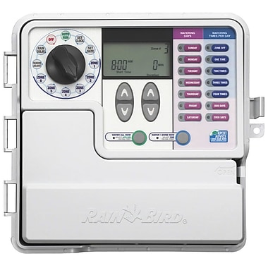 Rainbird SST600o Simple to Set Indoor/Outdoor Timer 6-Zone