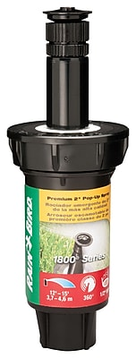 Rainbird 1802VAN Pop-up Sprinkler, Black