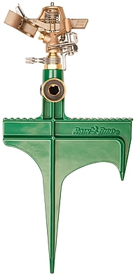 Rainbird 25PJLSP Brass Deluxe Impact Sprinkler On Hose-End Spike